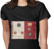 Book of Threads: Pages 5b/6a  Womens Fitted T-Shirt
