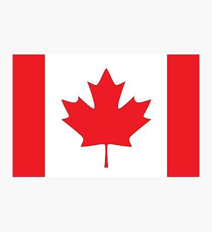 Flag Canada Photographic Print