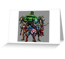 Avengers Assemble! Greeting Card