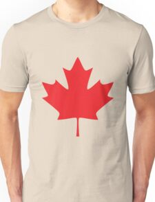 Flag Canada Unisex T-Shirt