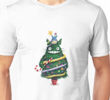 Christmas tree Totoro Unisex T-Shirt