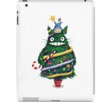 Christmas tree Totoro iPad Case/Skin