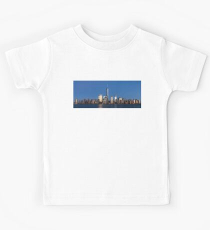 Manhattan Skyline Kids Tee