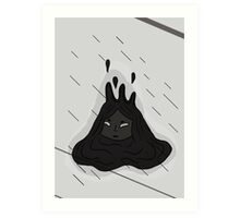 Droopy Mind & Body - Prints & Posters Art Print