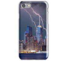 Manhattan Struck by Lightning iPhone Case/Skin