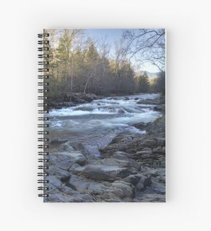 Great Smoky Mountains River Spiral Notebook