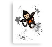 Borderlands 2 - Chibi Gunzy! Canvas Print