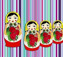 The Matryoshka Maidens by LozMac
