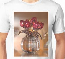 Crystal Flowers Unisex T-Shirt
