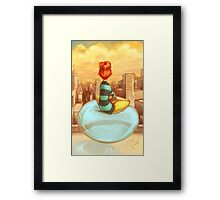 Personal Bubble Framed Print