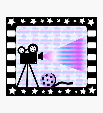 Old movies nostalgia Photographic Print