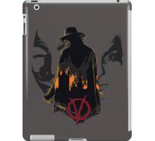 V for Vendetta 2nd Version. iPad Case/Skin