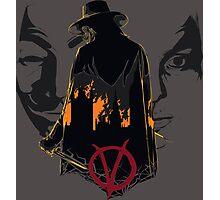 V for Vendetta 2nd Version. Photographic Print