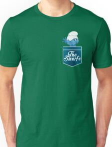 The Smurfs pocket design Unisex T-Shirt
