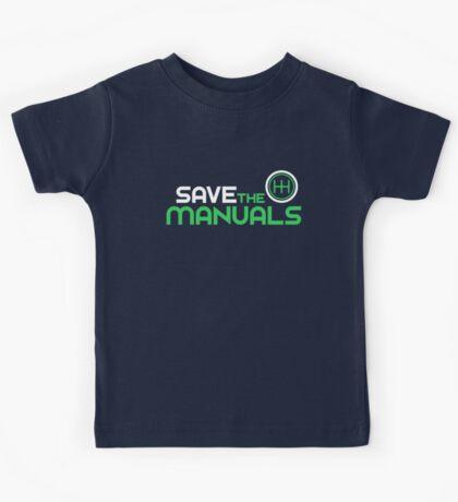 Save The Manuals (2) Kids Tee