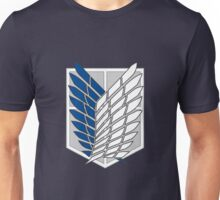 Attack on Titan - Shingeki No Kyojin -Survey Corps Logo  Unisex T-Shirt