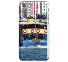 Hong Kong - Old boat on Victoria Harbour iPhone Case/Skin