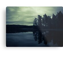 Lake by Night Metal Print
