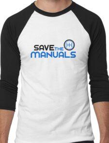 Save The Manuals (3) Men's Baseball ¾ T-Shirt