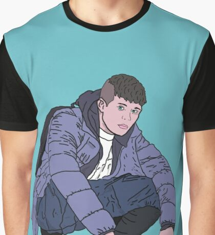 yung lean crouch, ginseng strip Graphic T-Shirt