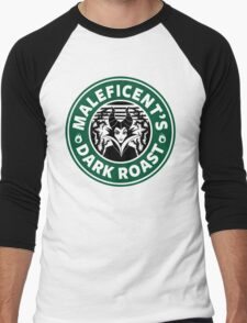 Maleficent's Dark Roast Men's Baseball ¾ T-Shirt