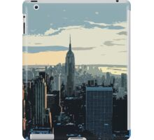 City landscape iPad Case/Skin