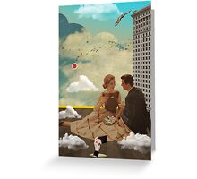 Vintage Modern Collection -- All Eyes On Me Greeting Card