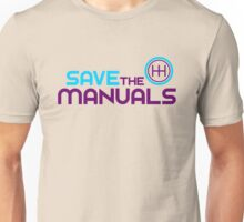 Save The Manuals (5) Unisex T-Shirt