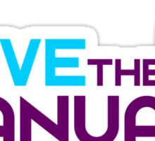 Save The Manuals (5) Sticker