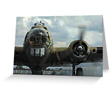 Engines Ready Greeting Card