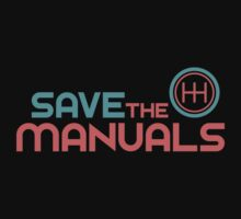 Save The Manuals (6) Baby Tee