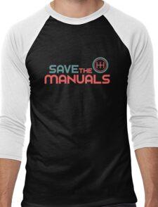 Save The Manuals (6) Men's Baseball ¾ T-Shirt