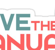 Save The Manuals (6) Sticker