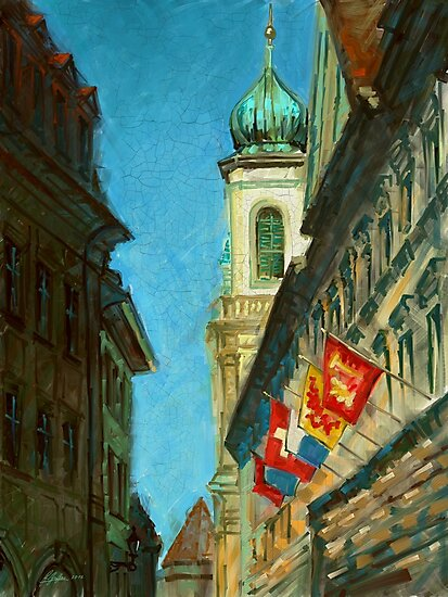 Lucerne Tower by Remus Brailoiu
