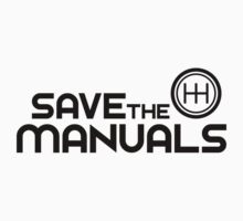 Save The Manuals (7) Kids Clothes