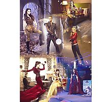 Once Upon A Time - main cast Photographic Print