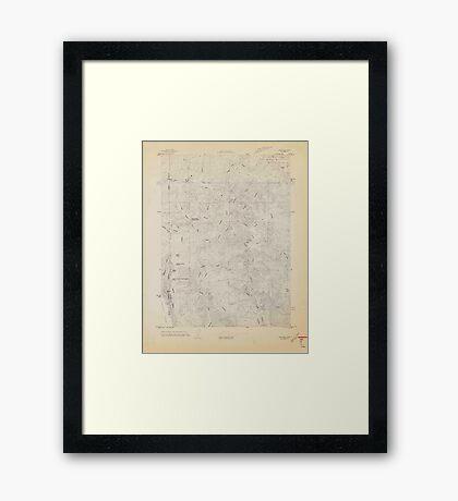 USGS TOPO Map California CA Childs Hill 302694 1966 24000 geo Framed Print