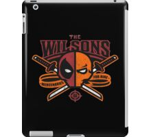 The Wilsons iPad Case/Skin