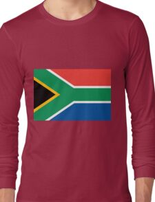 South Africa flag Long Sleeve T-Shirt