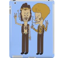 BEAVIS AND BUTTHEAD -PEACE  iPad Case/Skin