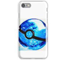 Water great Pokeball iPhone Case/Skin