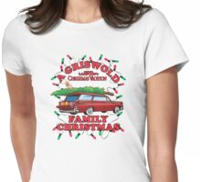 National Lampoon's - Xmas Station Wagon Variant Womens Fitted T-Shirt
