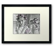 Reflective Thoughts Framed Print