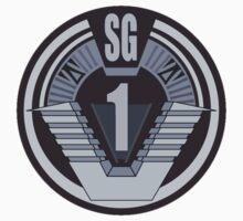Stargate SG-1 badge Baby Tee