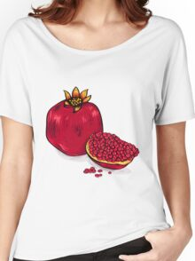Juicy pomegranate Women's Relaxed Fit T-Shirt