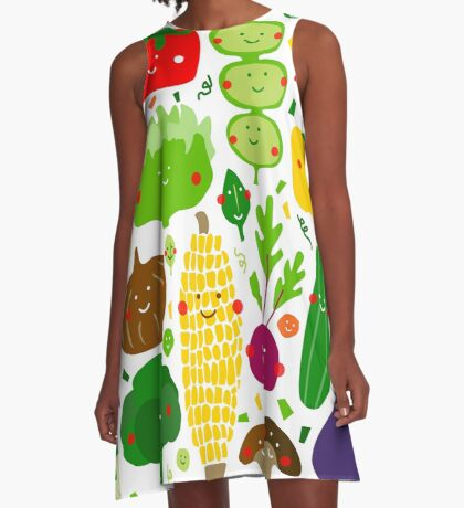 Eat your greens A-Line Dress