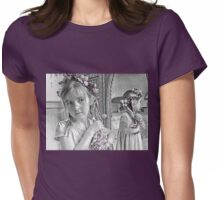Reflective Thoughts Womens Fitted T-Shirt