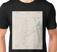 USGS TOPO Map California CA Blue Canyon 302440 1955 24000 geo Unisex T-Shirt
