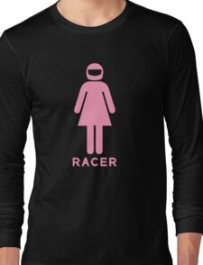 Woman Racer (1) Long Sleeve T-Shirt