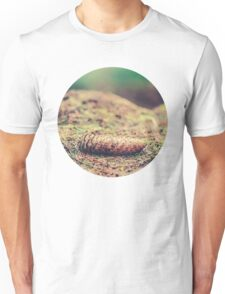 Pine Cone on Forest Floor Unisex T-Shirt